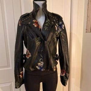 EUC blanknyc began leather jacket